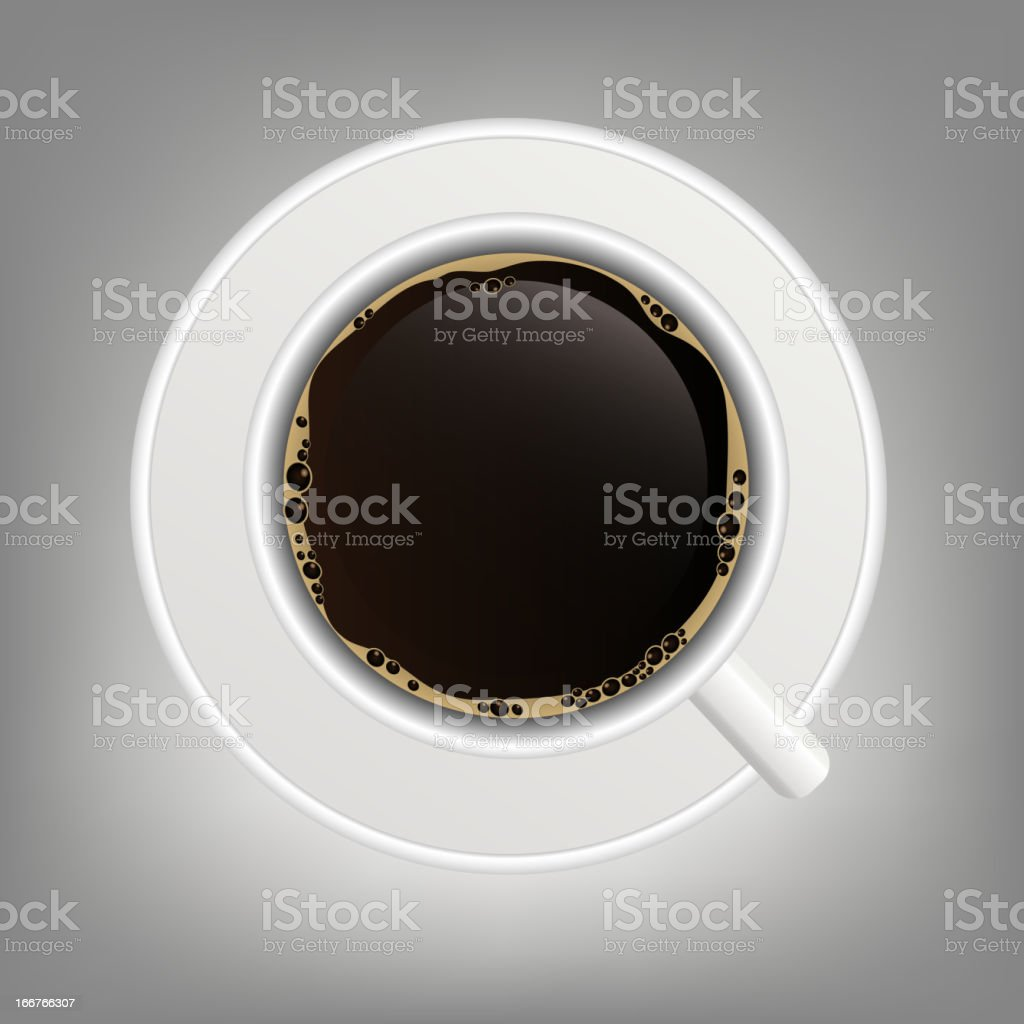 cup of coffee icon vector illustration royalty-free stock vector art