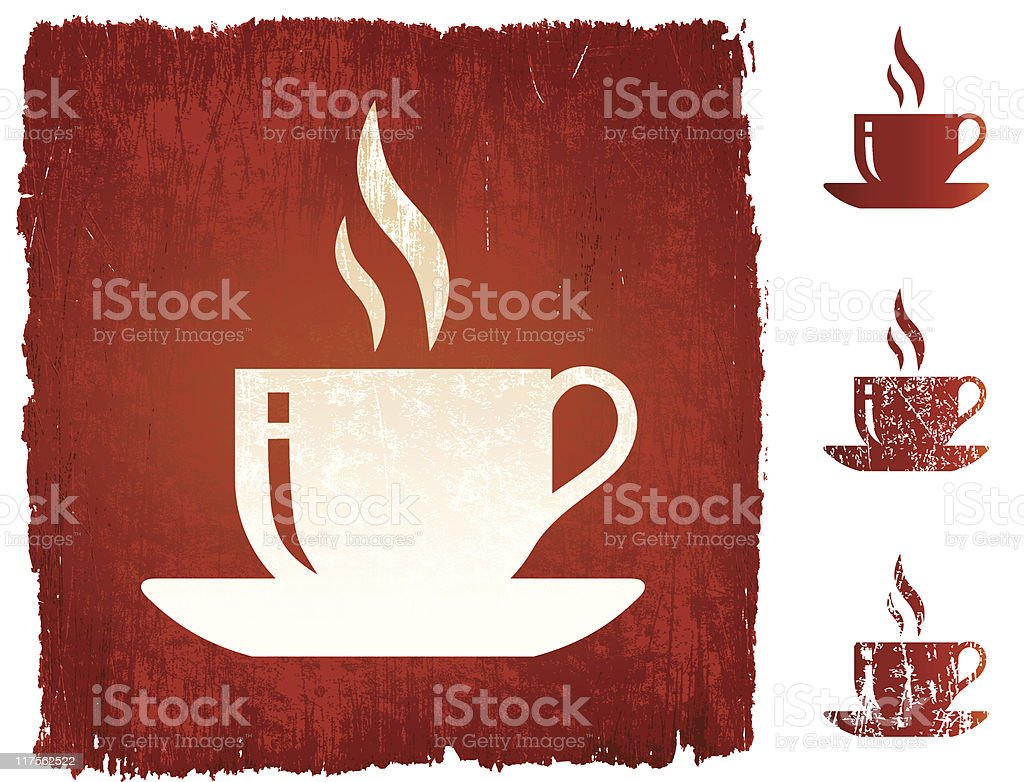cup of coffee tea royalty-free vector Background royalty free vector royalty-free stock vector art