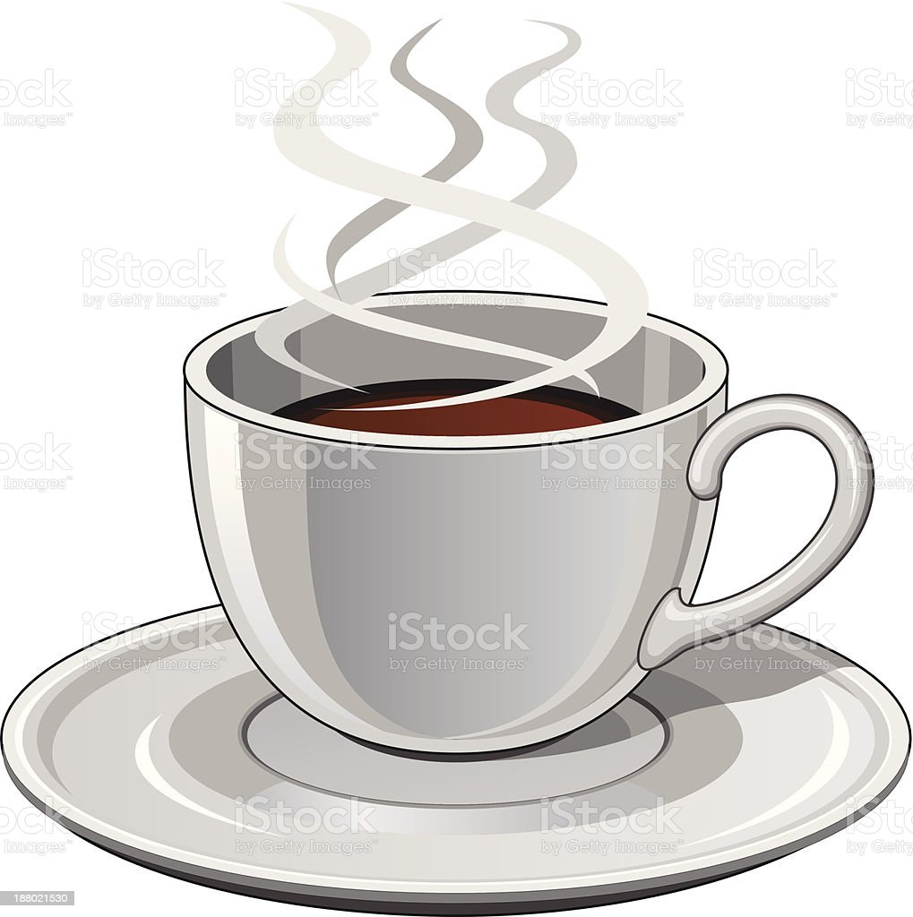 Cup of Coffee vector art illustration