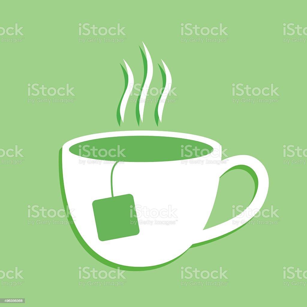 Cup Of Tea icon vector art illustration