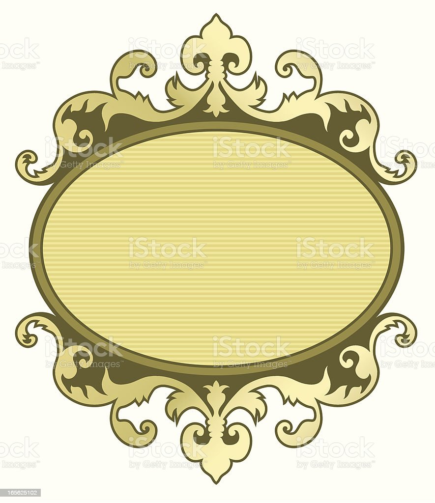 Placard vector art illustration