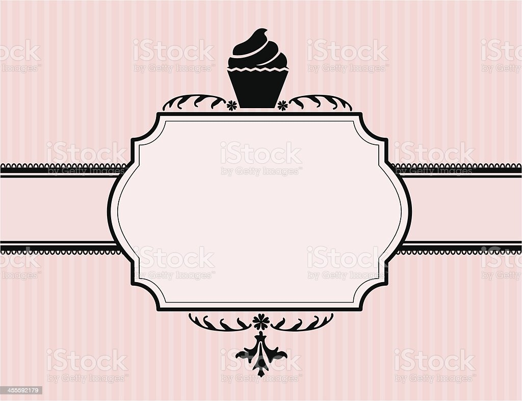 Cupcake Banner royalty-free stock vector art