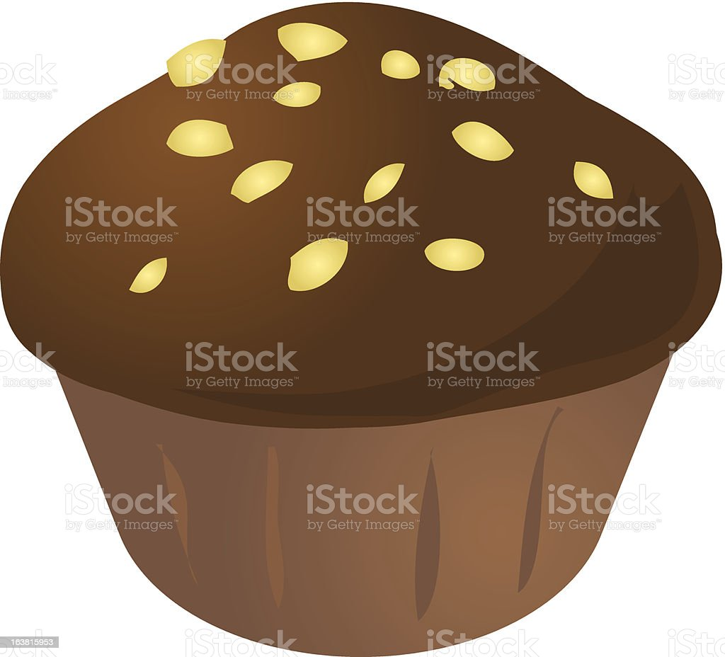 Cupcake muffin royalty-free stock vector art