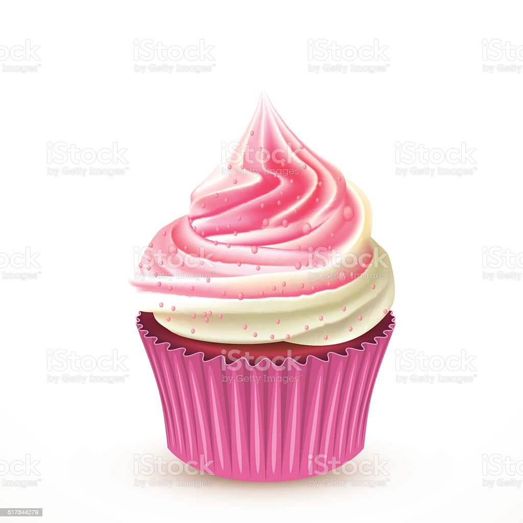 Cupcake vector vector art illustration