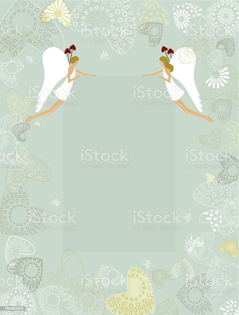 Cupids banner royalty-free stock vector art