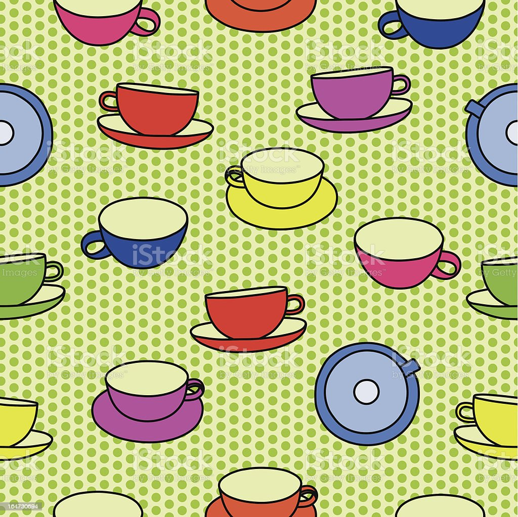 cups peas royalty-free stock vector art