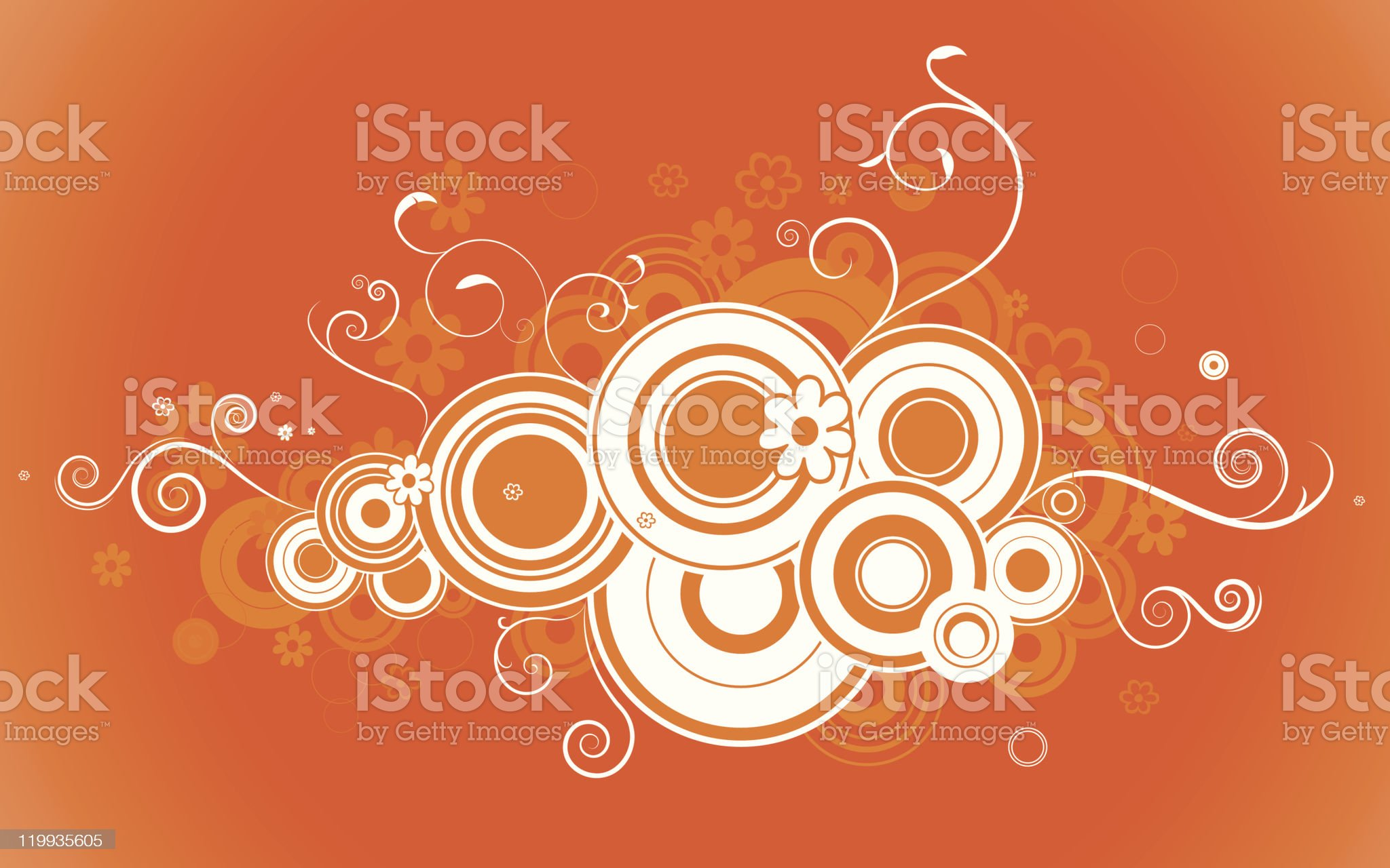 Curly vector elements royalty-free stock vector art