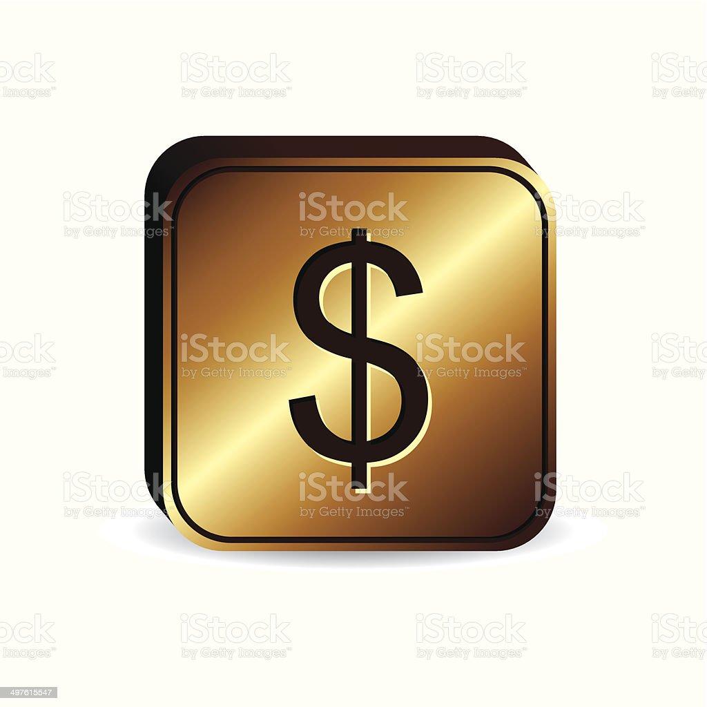Currencies design vector art illustration