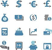 Currency Icons - Conc Series