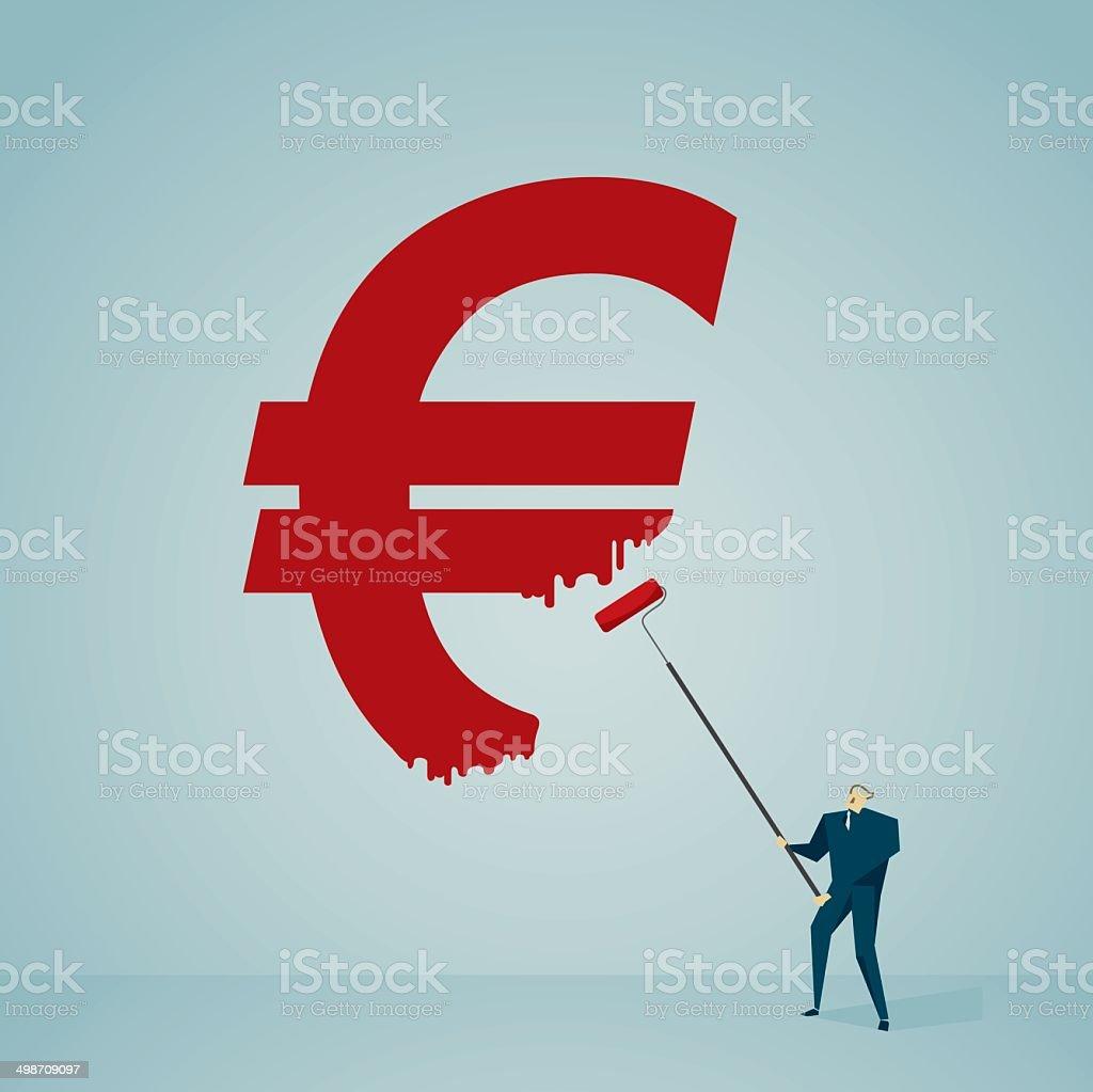 Currency Symbol vector art illustration