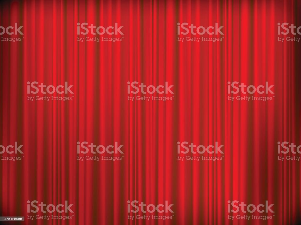 Blue stage curtains blue stage curtain vector free vector in - Theater Curtains Curtain Vector Art