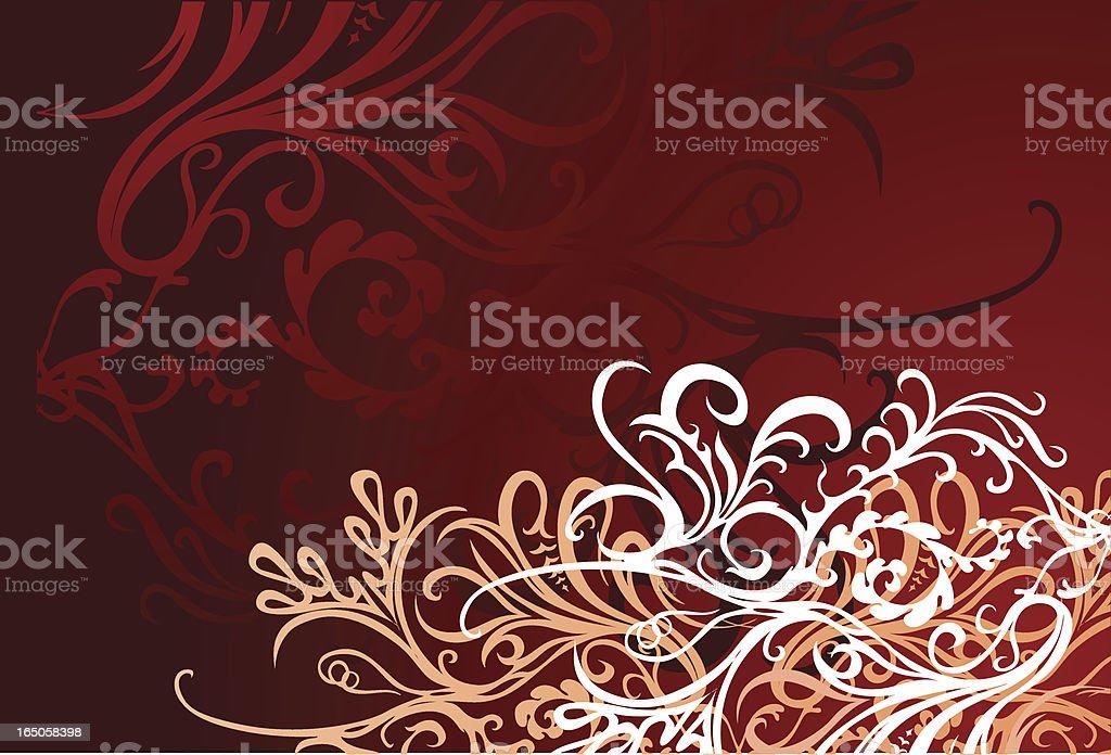 curvy Hintergrund Lizenzfreies vektor illustration