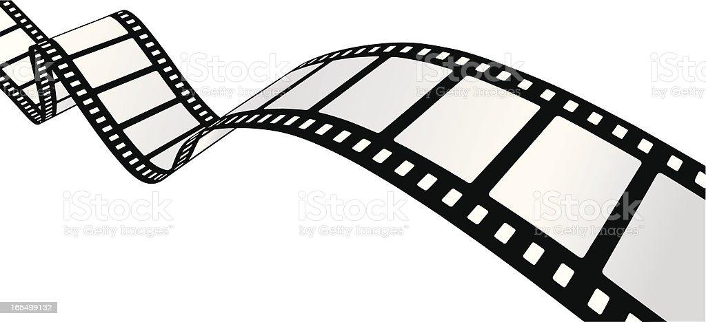 Curvy Filmstrip [VECTOR] vector art illustration