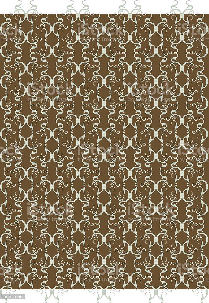 curvy wallpaper royalty-free stock vector art