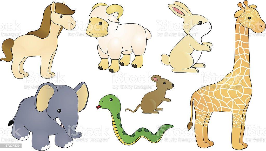 Linda los animales foto de stock libre de derechos