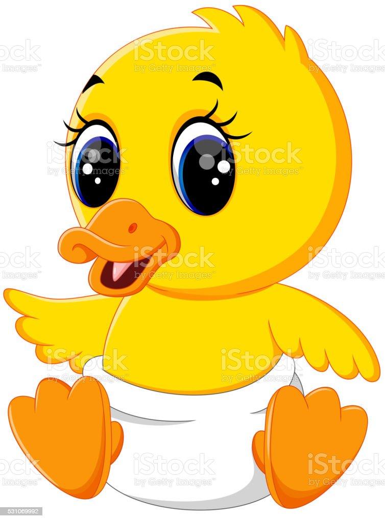 Cartoon baby duck - photo#7
