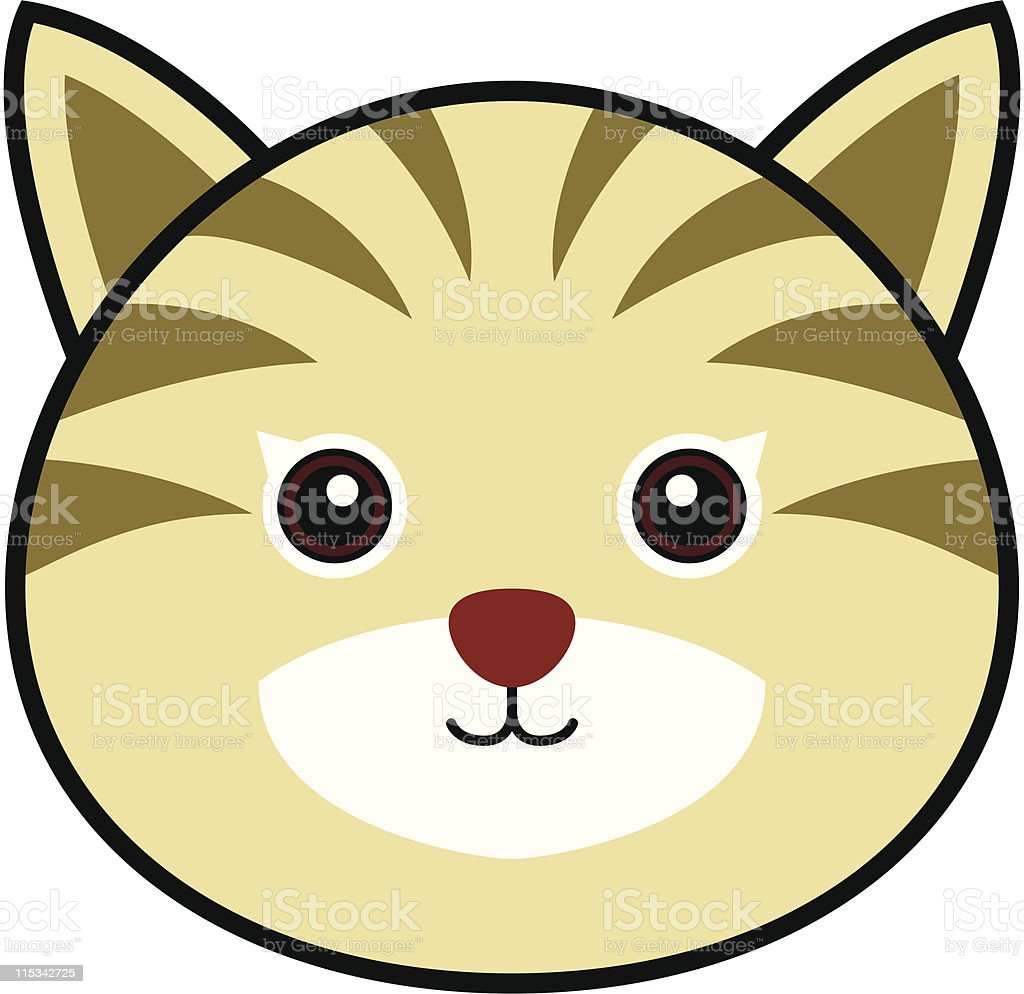 Cute Cat Vector vector art illustration