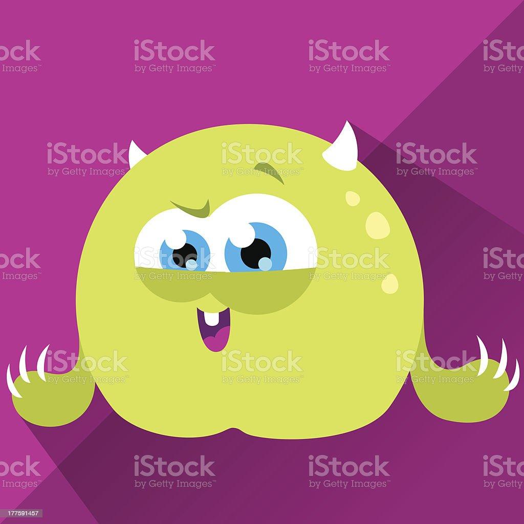 Cute Character - Lemony royalty-free stock vector art