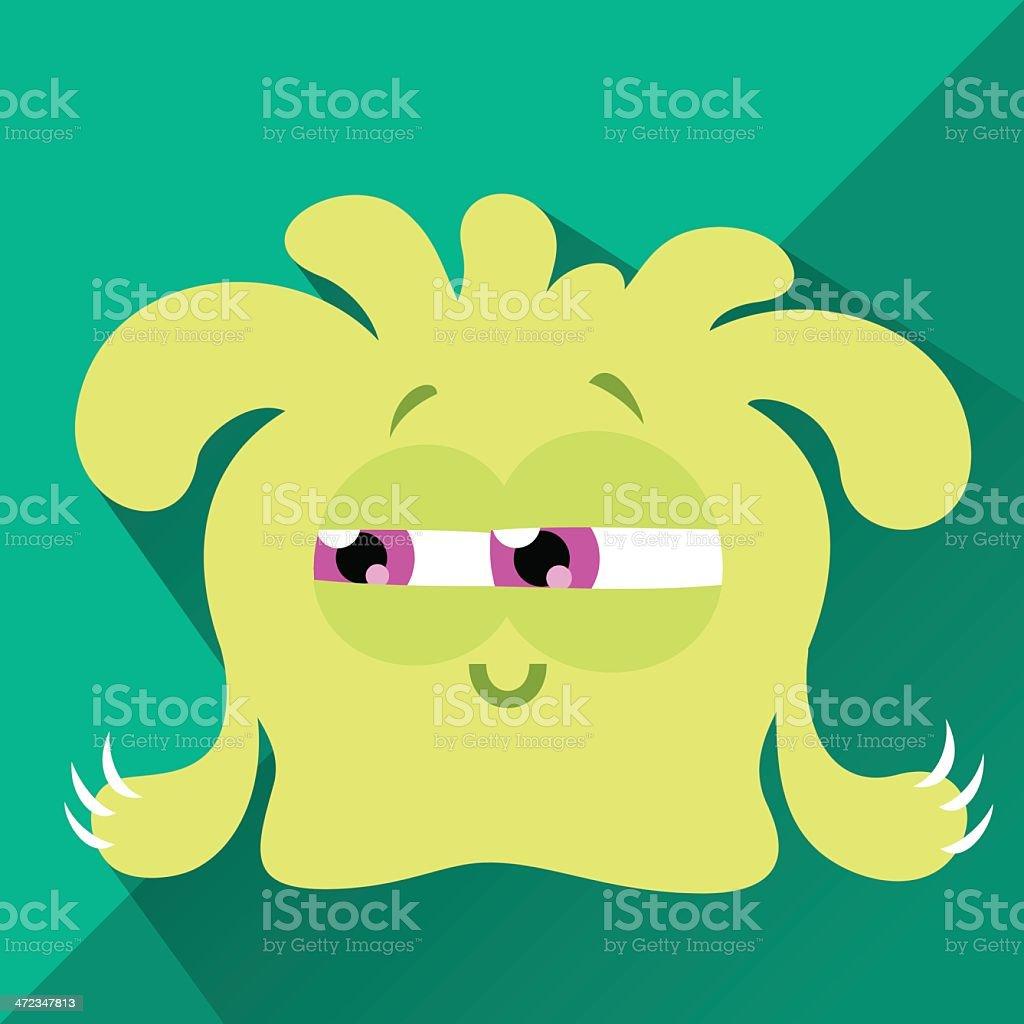 Cute Character - Rasta royalty-free stock vector art