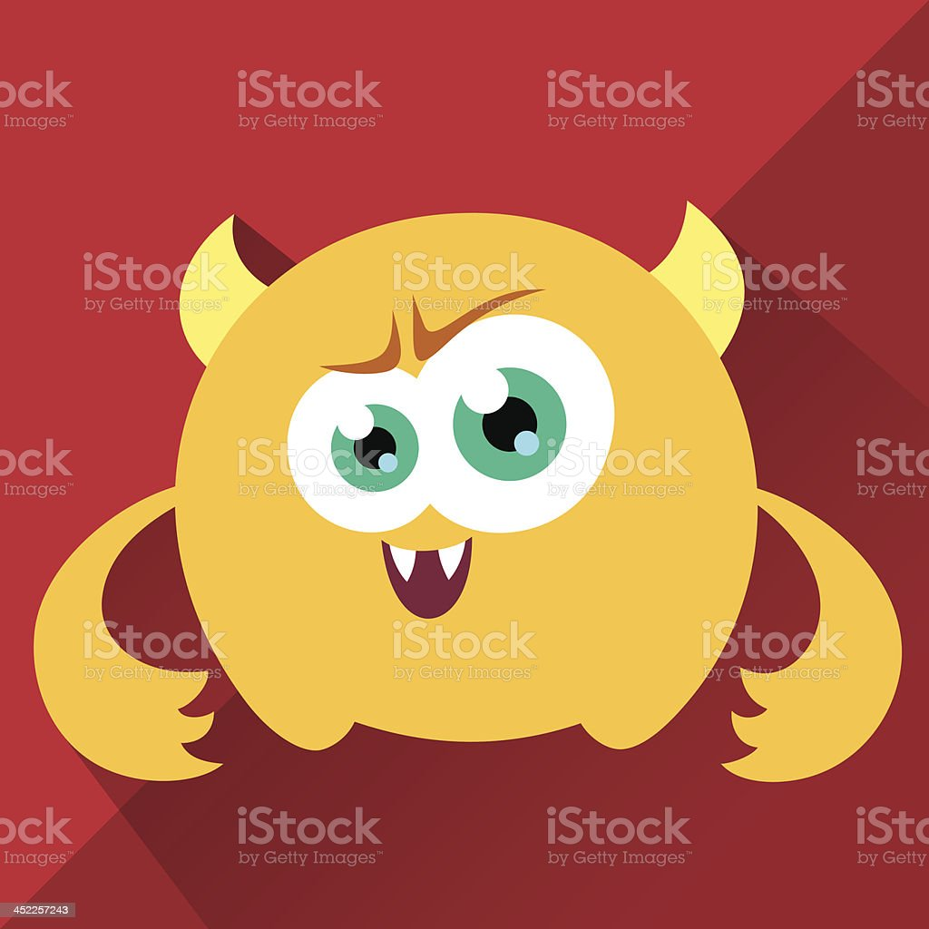 Cute Character - Rusty royalty-free stock vector art