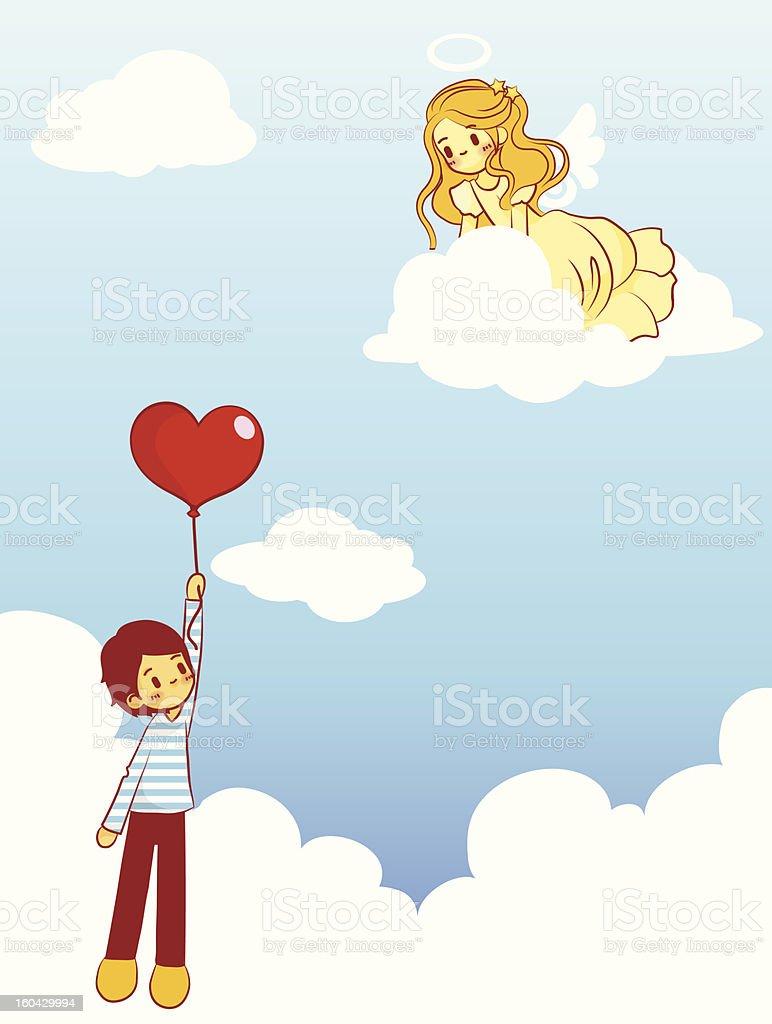 Cute Character royalty-free stock vector art