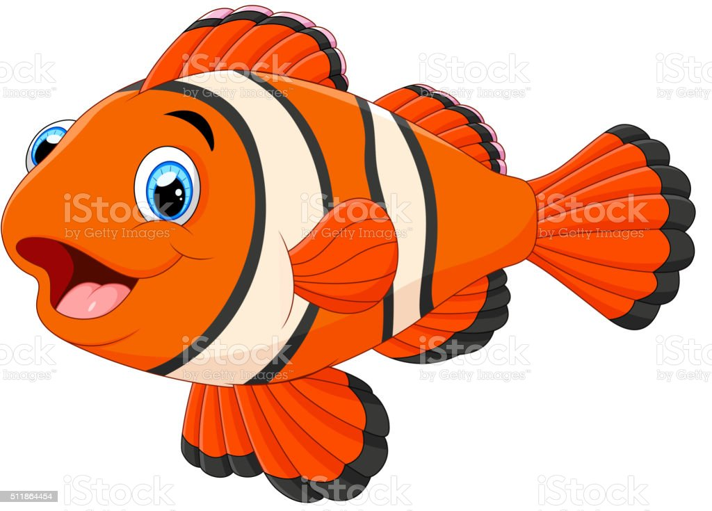 clown fish clip art  vector images   illustrations istock clownfish clipart #37 clown fish cartoon clipart