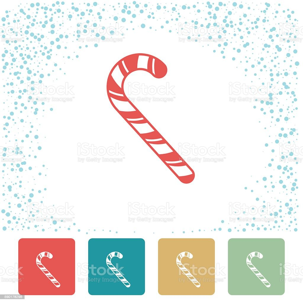 Cute Colourful Christmas Holiday Icons vector art illustration