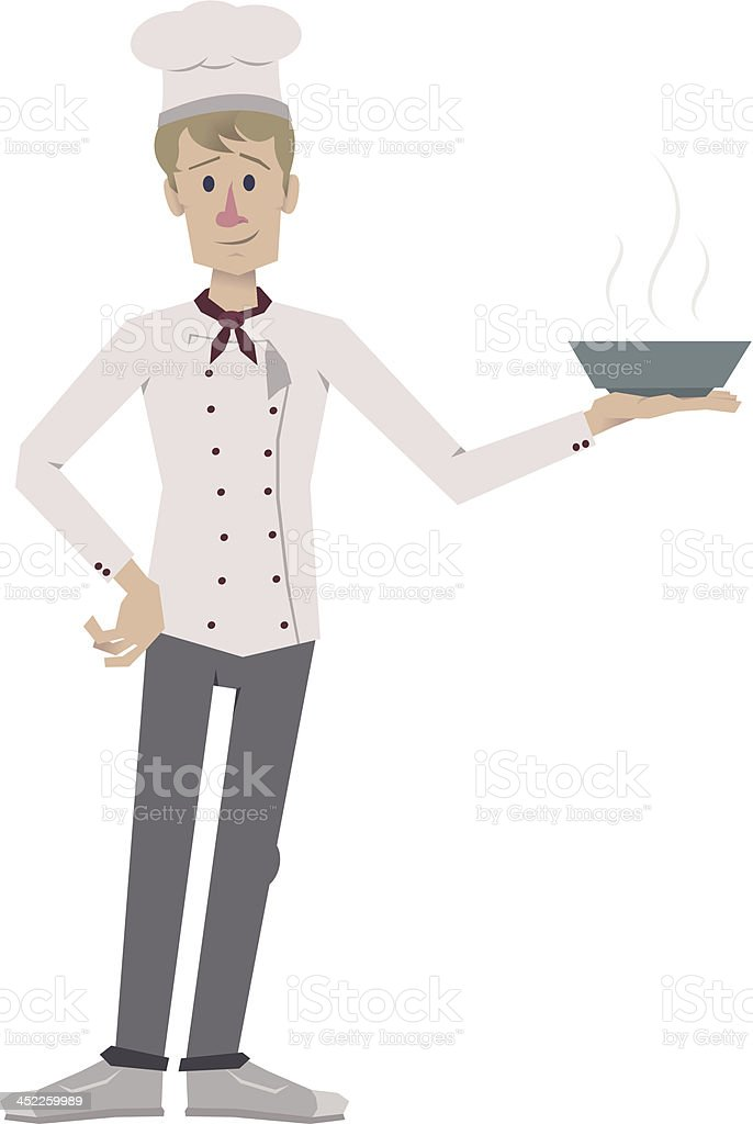 cute cook royalty-free stock vector art
