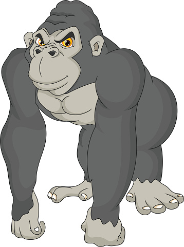 King Kong Monster Clip Art, Vector Images & Illustrations ...