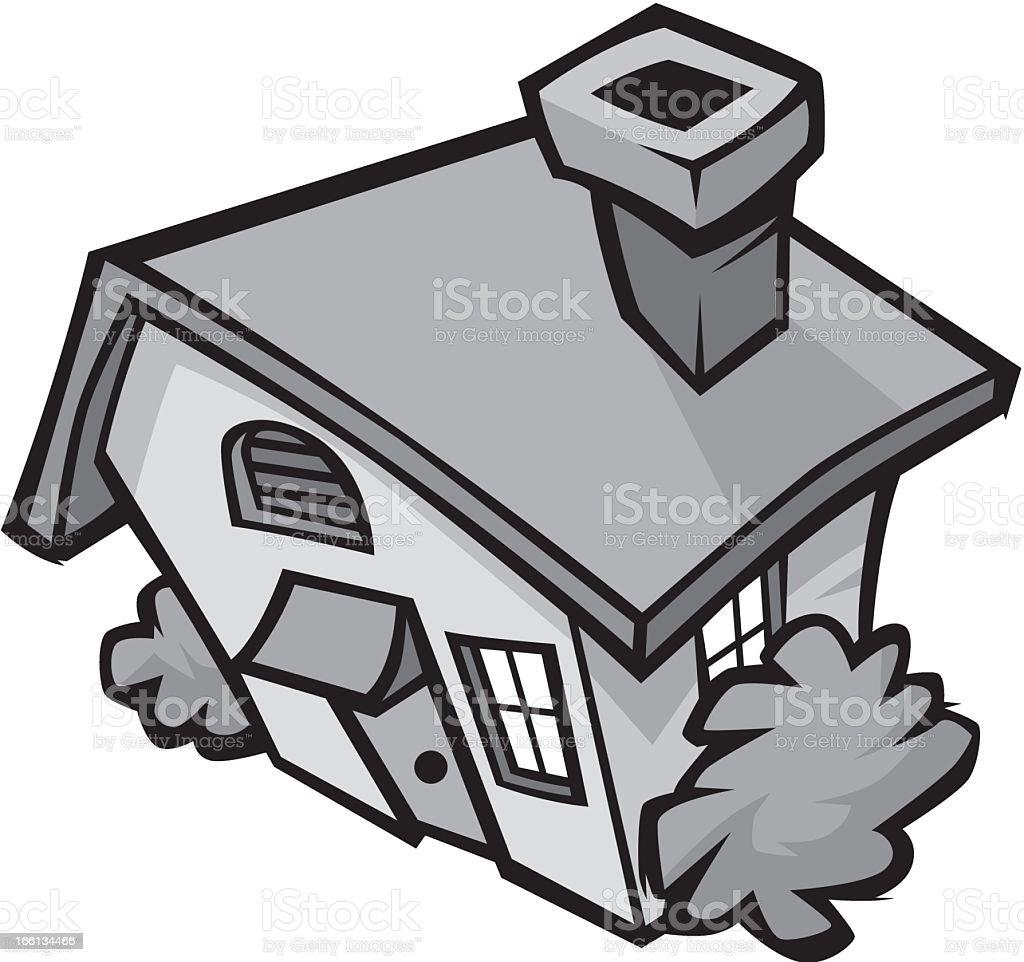 Cute House royalty-free stock vector art