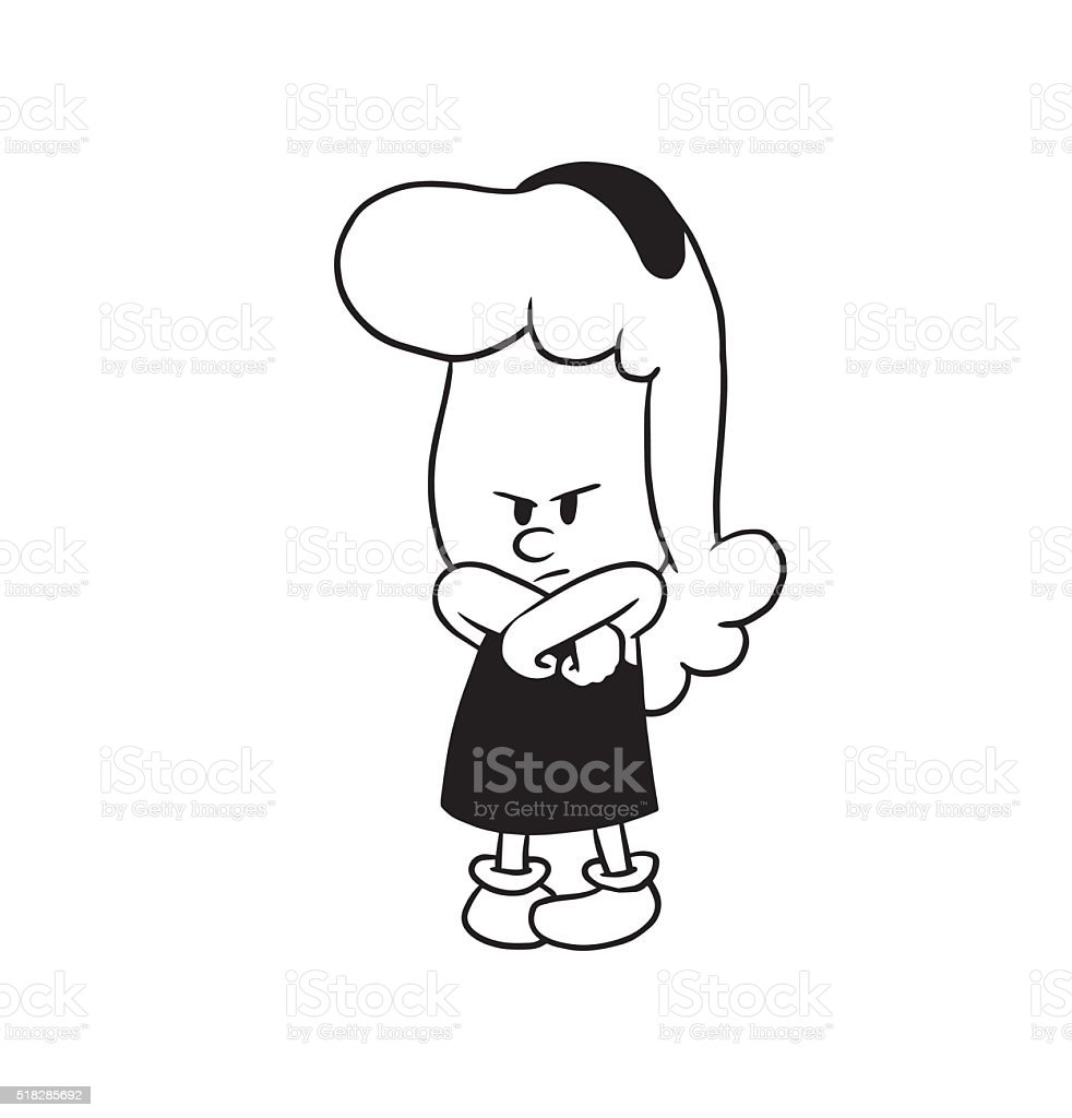 Image result for royalty free images arms crossed angry cartoon woman