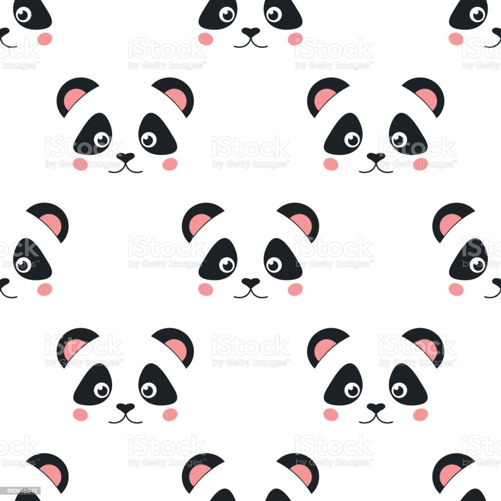Cute Panda Face Wallpaper - Other &- Abstract Background Wallpapers ...