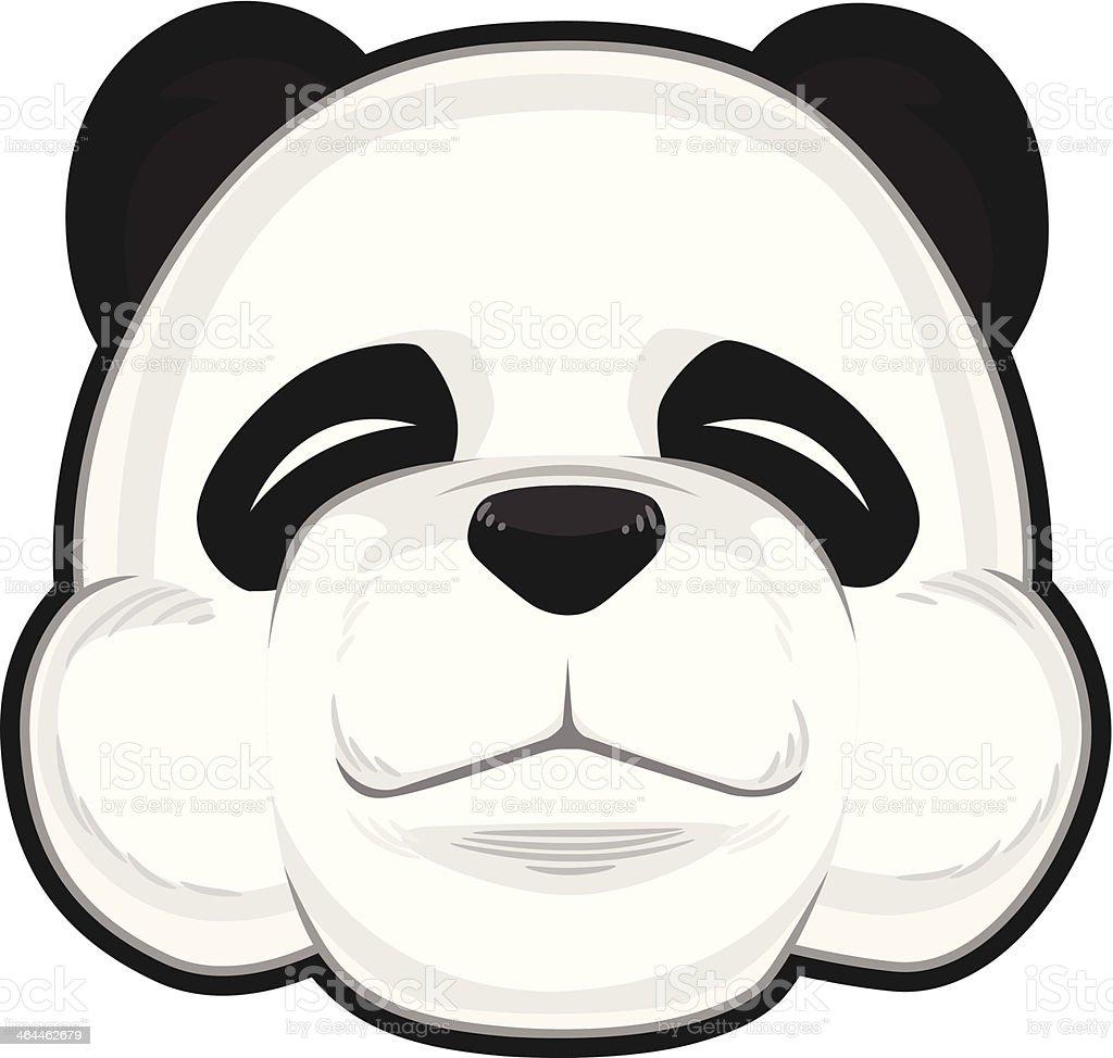 Cute Panda royalty-free stock vector art