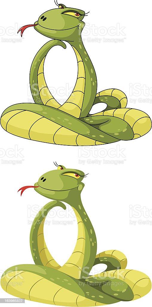 cute snake royalty-free stock vector art