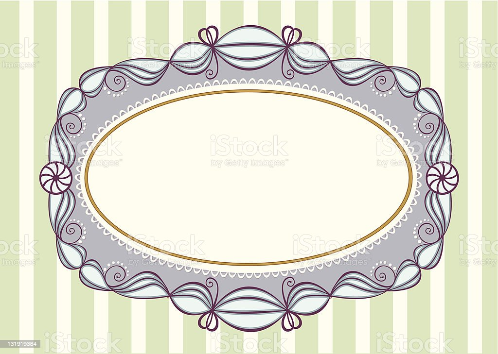 Cute vintage label royalty-free stock vector art