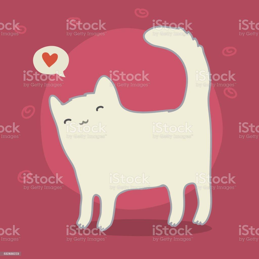 Белый кот песня текст
