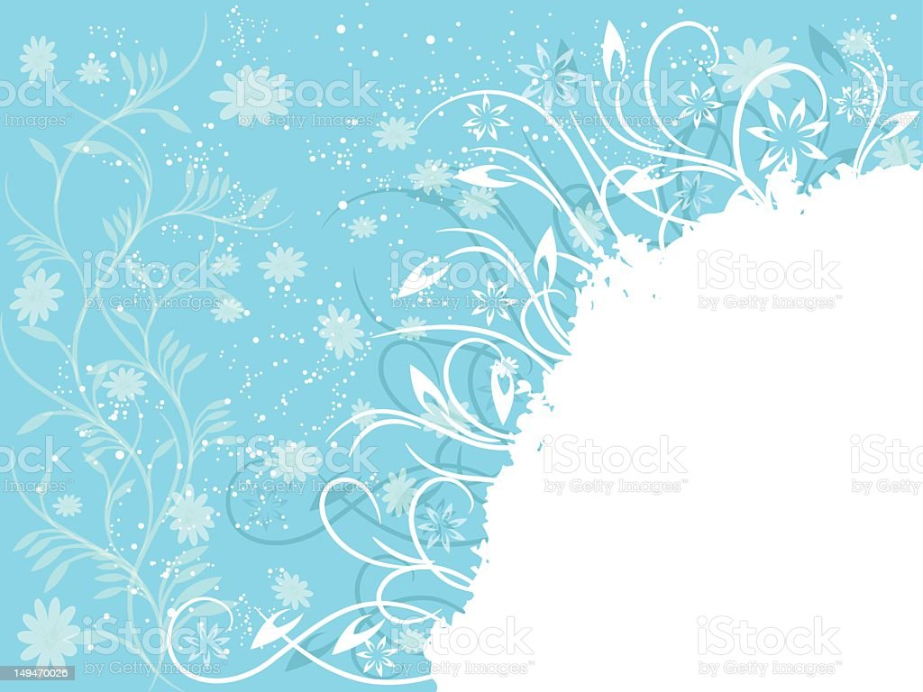 Cute winter Background stock photo
