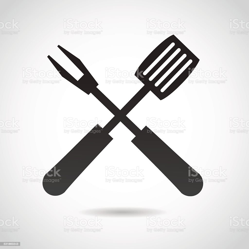 Cutters icon isolated on white background. vector art illustration