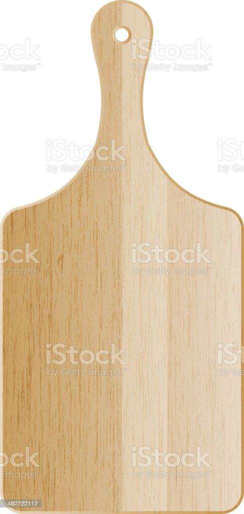 cutting board vector art illustration