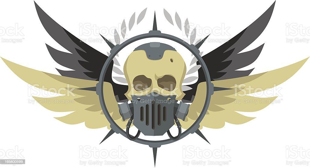 Cyber Punk emblem royalty-free stock vector art