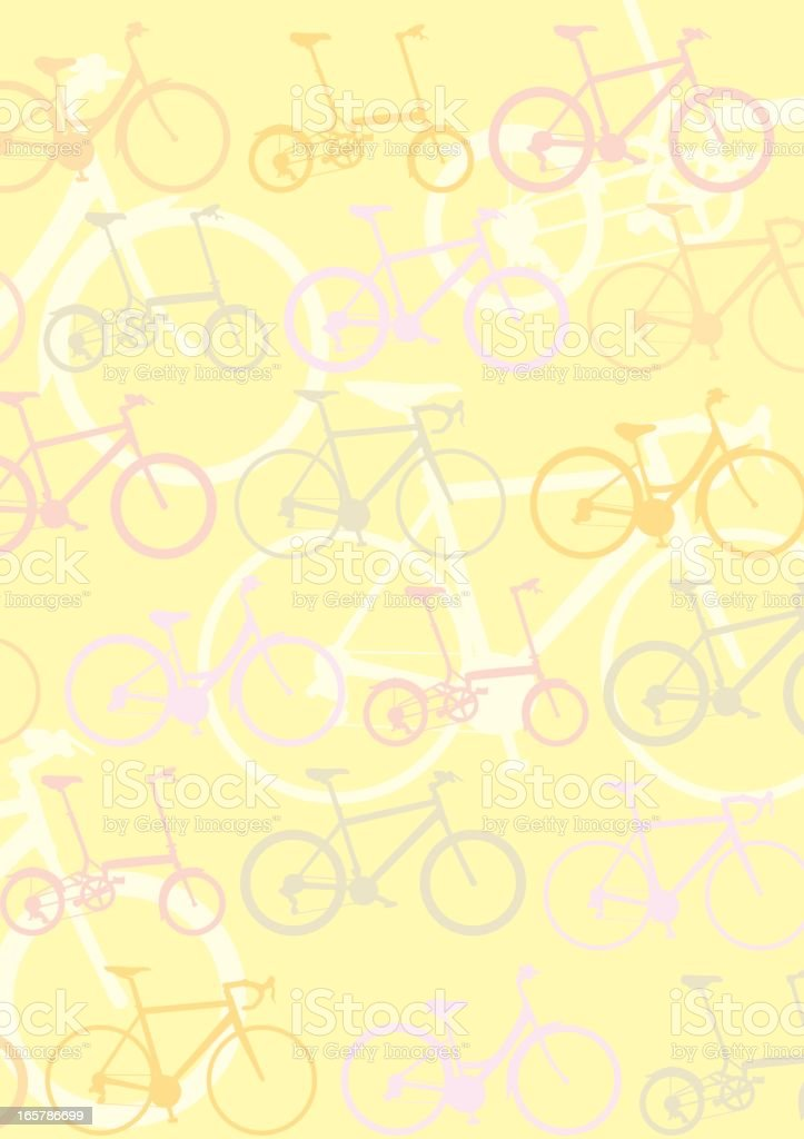 Cycling Background - Wallpaper royalty-free stock vector art