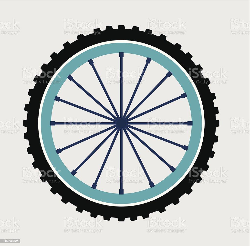 cycling design royalty-free stock vector art