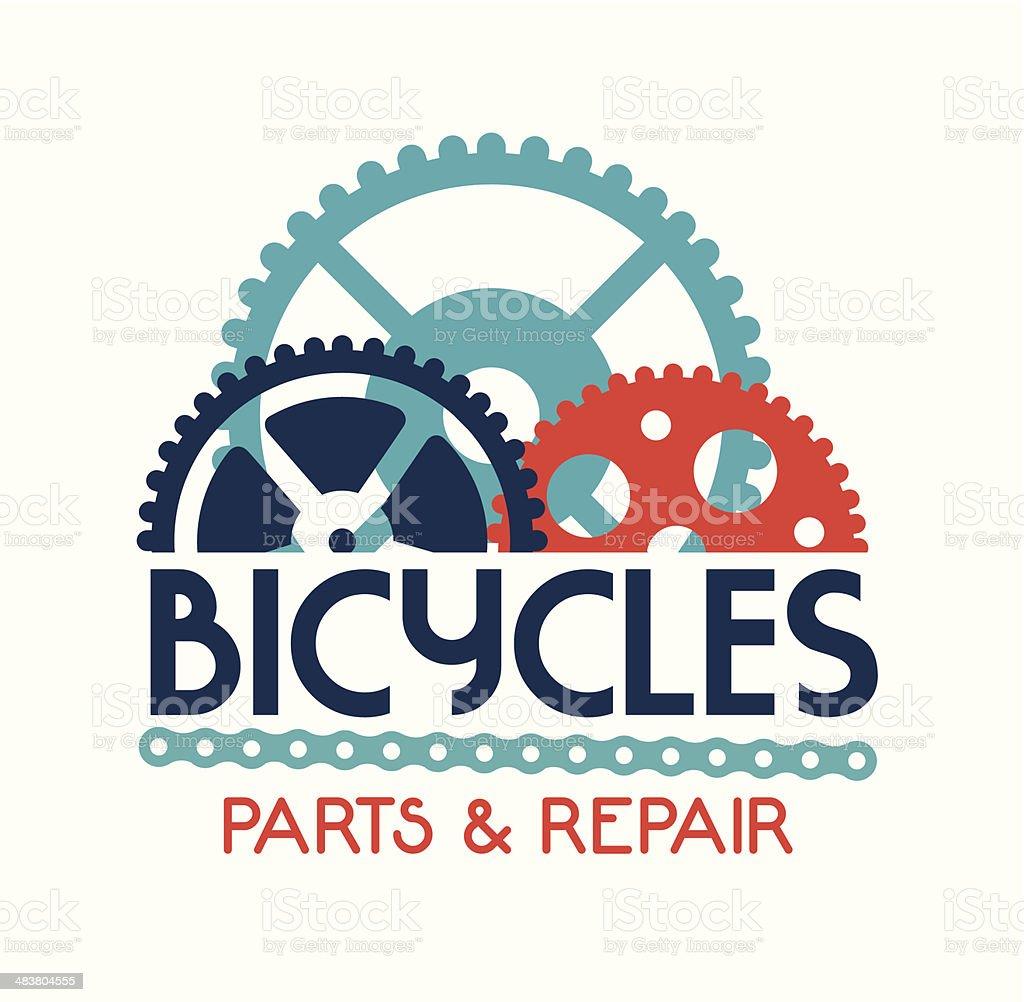 cycling design vector art illustration