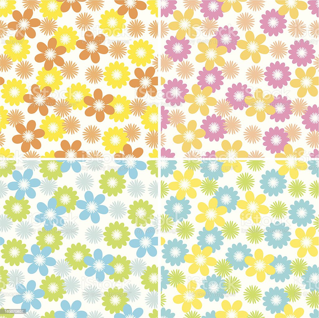 Daisies royalty-free stock vector art