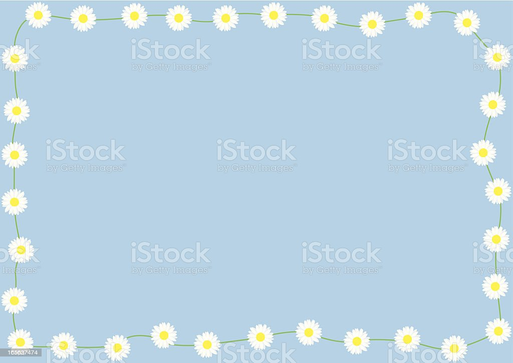 Daisychain vector art illustration