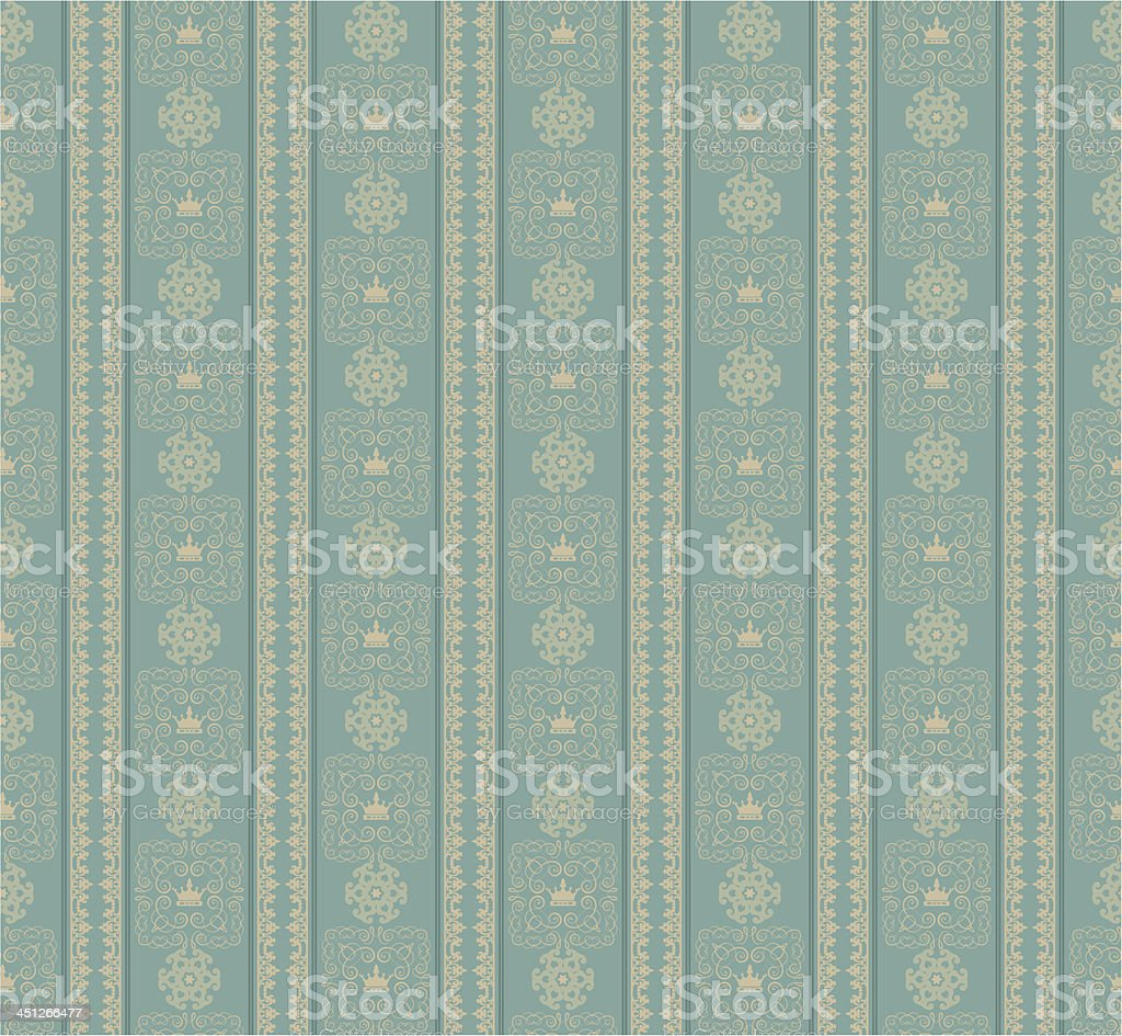 damask decorative wallpaper for walls. royalty-free stock vector art