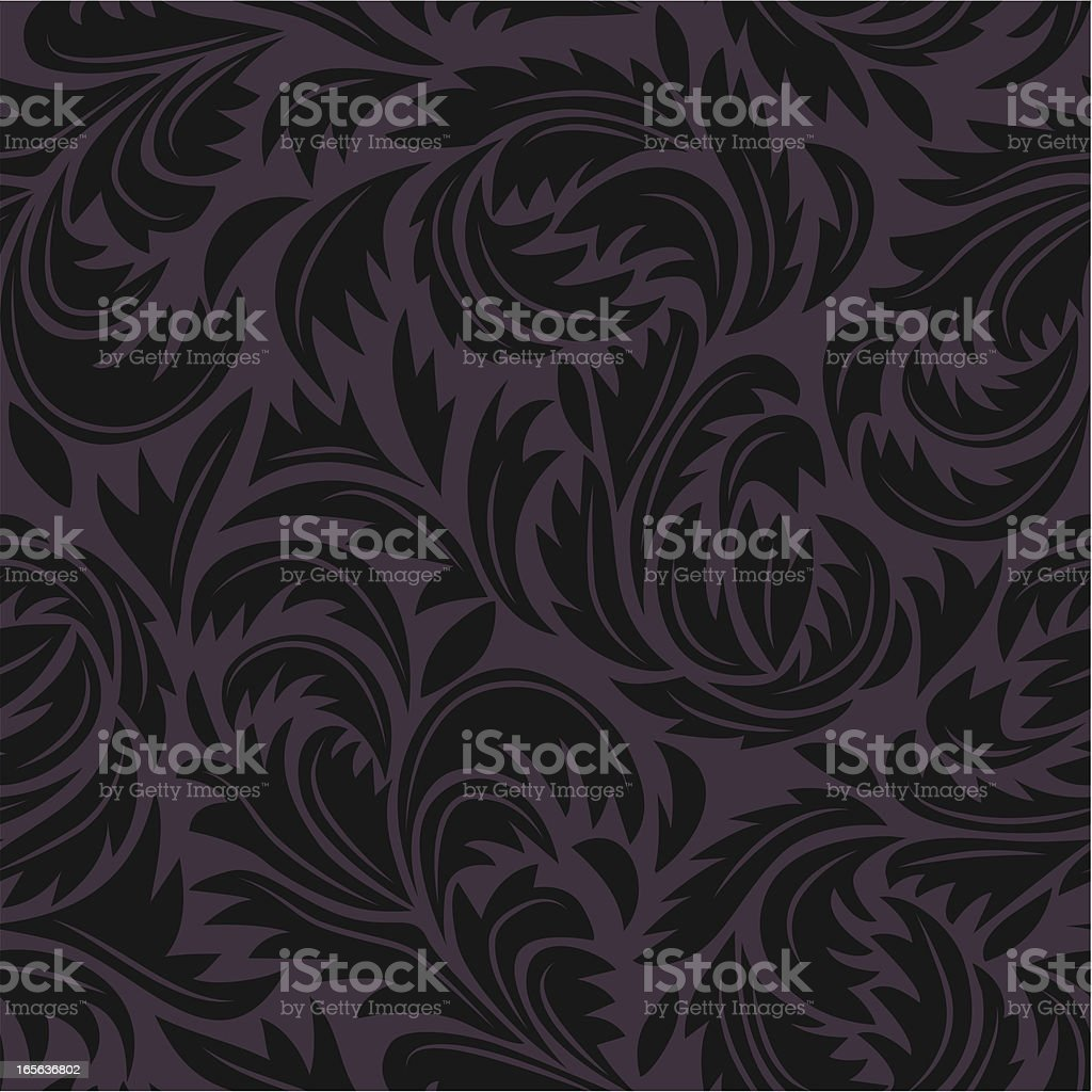 Damask royalty-free stock vector art