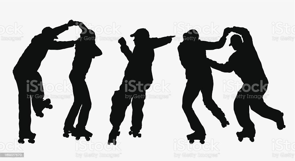 Dance! ( Vector ) vector art illustration