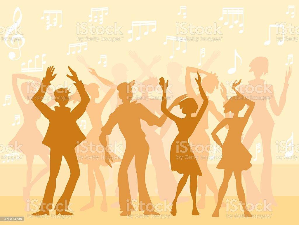 Dance royalty-free stock vector art