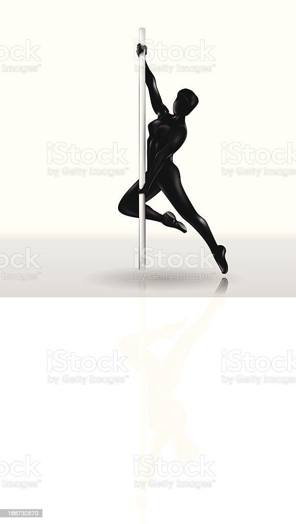 Dancer vector art illustration